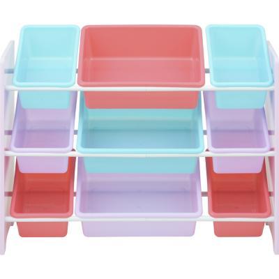 Organizador 9 cajas 84x30 cm Gatitos