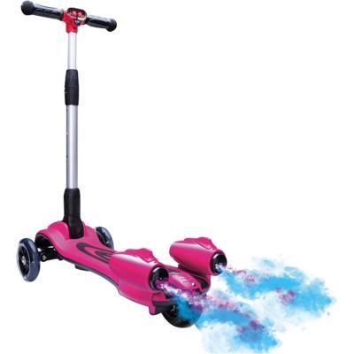 Monopatín con turbo rosado
