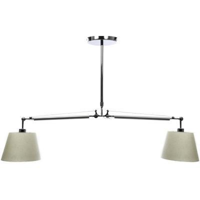 Lámpara de colgar Aluminio y Acero Tolomeo Transparente