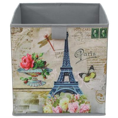 Caja plegable paris 27x27x28 cm
