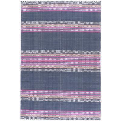 Alfombra etnic jeans 160x230 cm multicolor