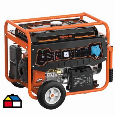 Generador eléctrico a gasolina 7500W