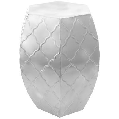 Pouff 35,5x35,5x48 cm plata