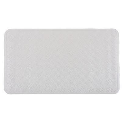 Piso antiadherente microcontrol 70x40 cm blanco