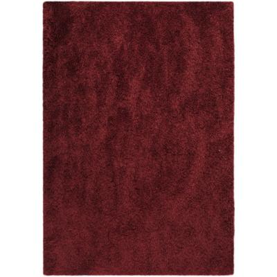 Alfombra Kioto 160x230 cm rojo