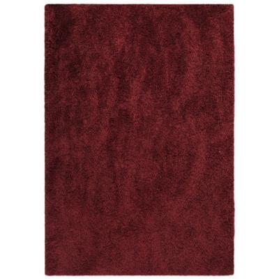 Bajada de cama Kioto 60x120 cm rojo