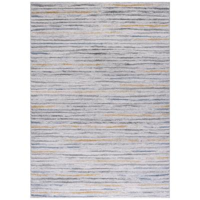 Bajada de cama kurt líneas 80x120 cm turquesa
