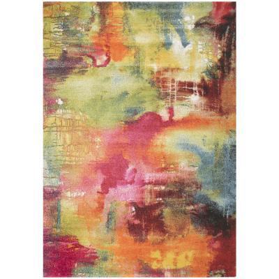 Alfombra Inusual Art 160x230 cm multicolor