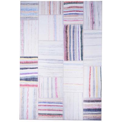 Alfombra Kyle Multicolor 190x290 cm blanco