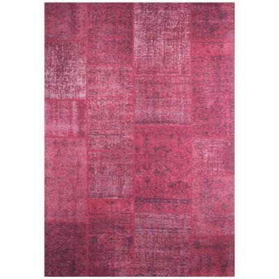Alfombra Kyle Square 190x290 cm rojo