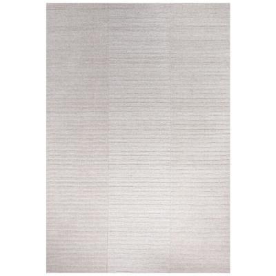 Alfombra handwoven Oslo 140x200 cm gris claro