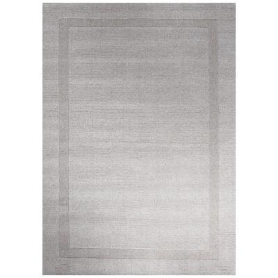 Alfombra handwoven Oslo 190x290 cm gris claro
