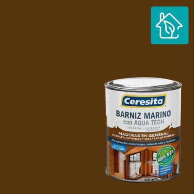 Barniz Marino Aquatech Roble 1/4 gl