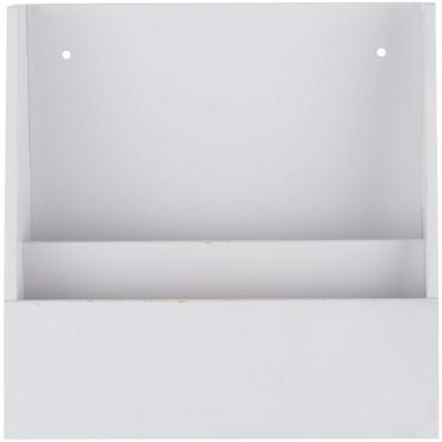 Organizador de cartas 30x30x8 cm blanco