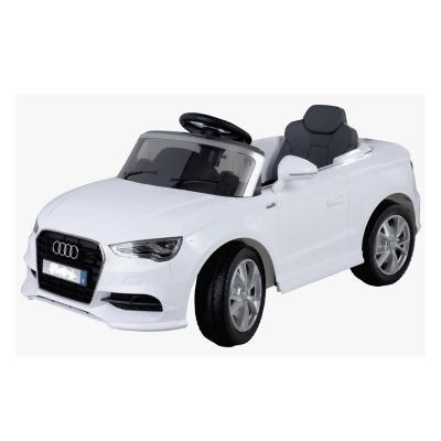 Automóvil a batería Audi Blanco