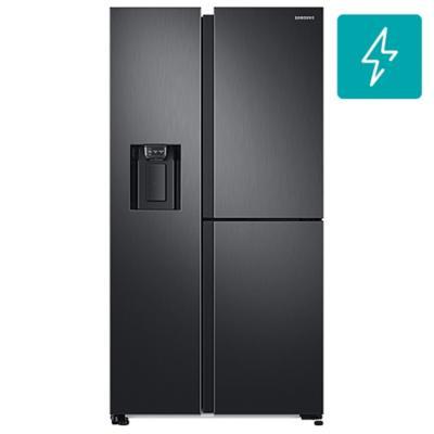 Refrigerador side by side 604 litros negro