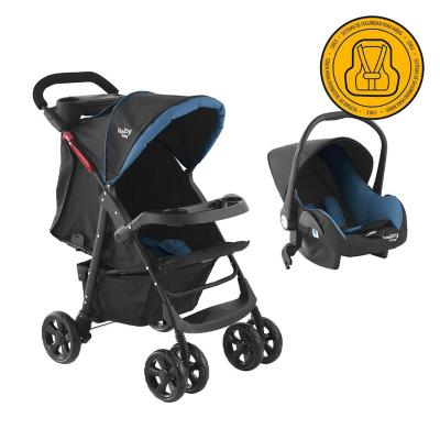 Coche Travel System Azul