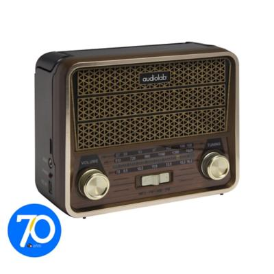 Radio Retro Fm/Usb/Sd Bateria