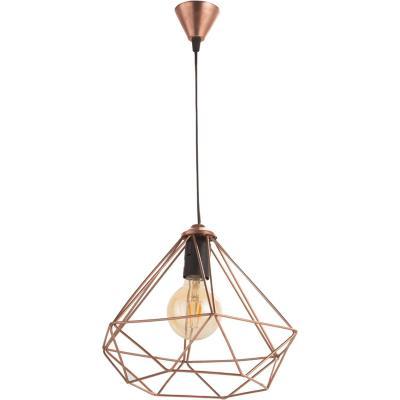 Lámpara de colgar Fierro Geometrica Cobre