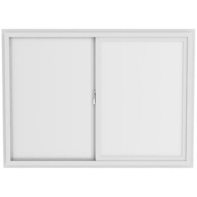 Ventana monolítica stipolite PVC americano klassik 70x50 blanco corredera