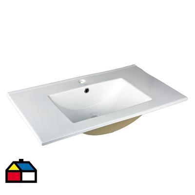 Lavamanos para vanitorio delfos 80x47x18 cm