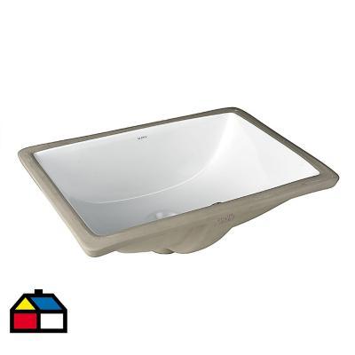 Lavamanos eta bajo cubierta blanco 46x33x18 cm