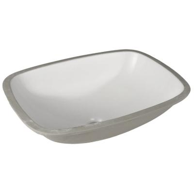 Lavamanos bajo cubierta rectangular 50,5x37 cm