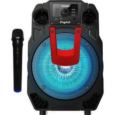 """Parlante karaoke bluetooth 8"""" con luz"""
