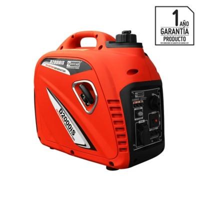 Generador electrico inverter a gasolina a 2000 W