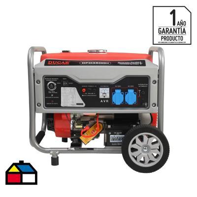 Generador eléctrico a gasolina 3.000 W