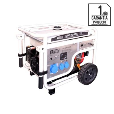 Generador eléctrico a diesel 6500 W