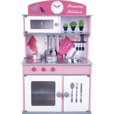 Juego de cocina mueble rosado