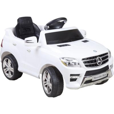 Auto a batería Jeep mercedes benz Blanco