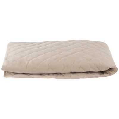 Funda protectora para sillón de 1 cuerpo, felpa color beige