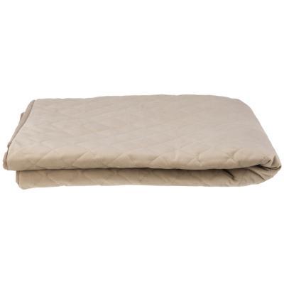 Funda protectora para sillón de 3 cuerpos, felpa color beige