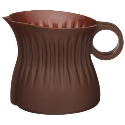 Jarro silicona chocolate + molde silicona chocolate números