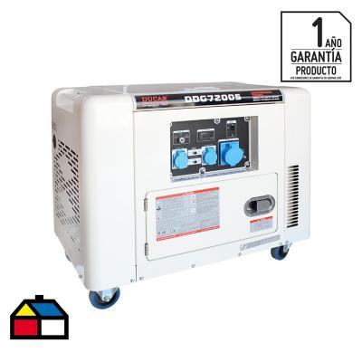 Generador electrico a diesel 6500 W