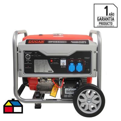Generador eléctrico a gasolina 5500 W