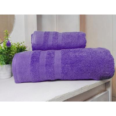 Set toallas 500g 2 piezas morado