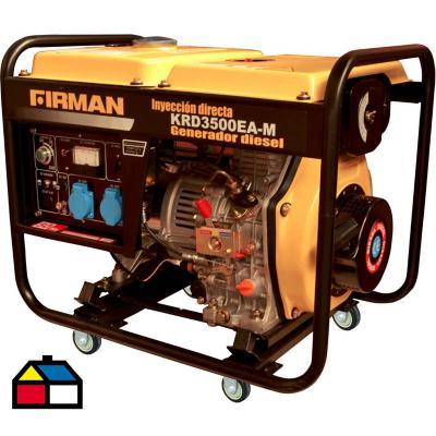 Generador eléctrico a diesel 3500 W