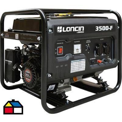 Generador eléctrico a gasolina 3100 W