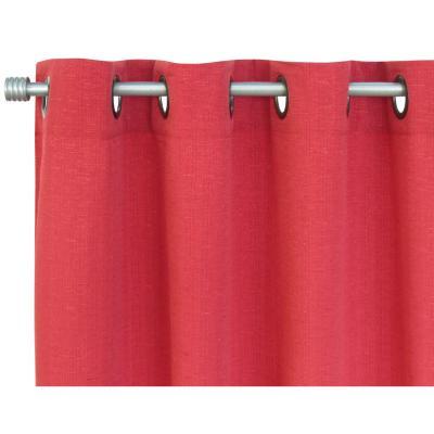 Set de cortinas tela 220x140cm Venecia Rosso rojo