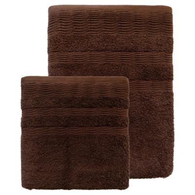 Set toallas 500g 2 piezas café
