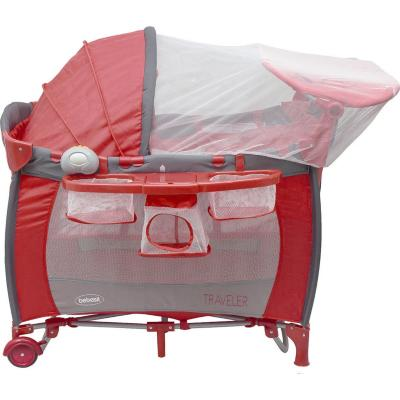 Cuna pack&play traveler 105x76x79 cm roja