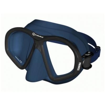 Máscara buceo tonina silicona azul