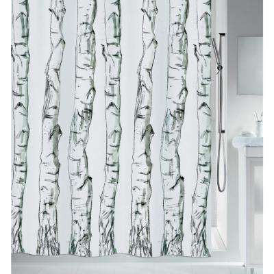 Cortina de baño Troncos 180x200 cm