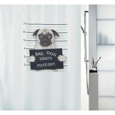 Cortina de baño Bad Dog 180x180 cm