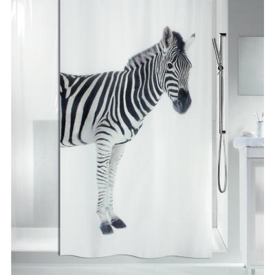 Cortina de baño Cebra 180x200 cm
