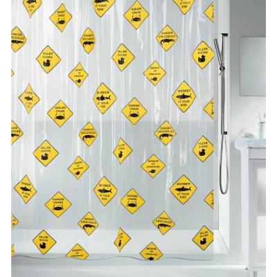 Cortina de baño Danger 180x200 cm