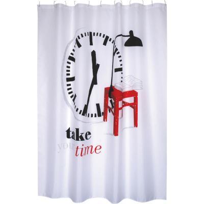 Cortina de baño Take your time 180x200 cm